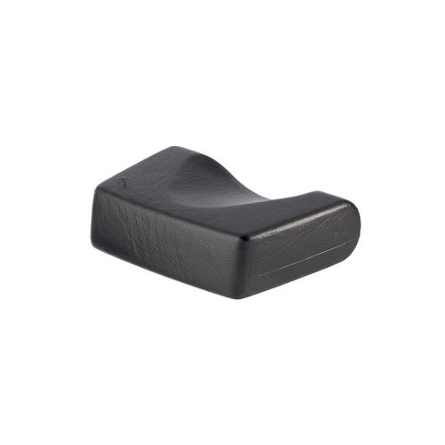 Kopfpolster, ergonomische Form, schwarz