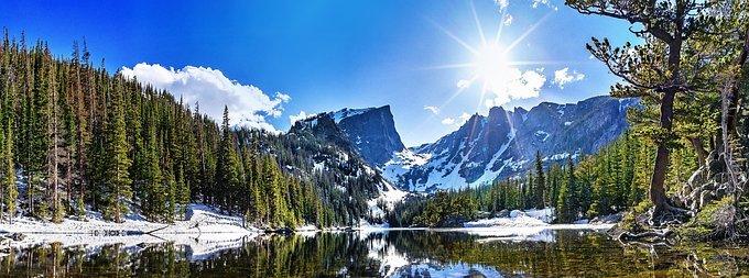 Berge-See