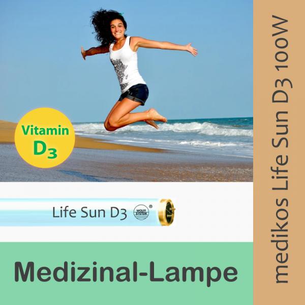 Medikos Wolff Life Sun D3 100W