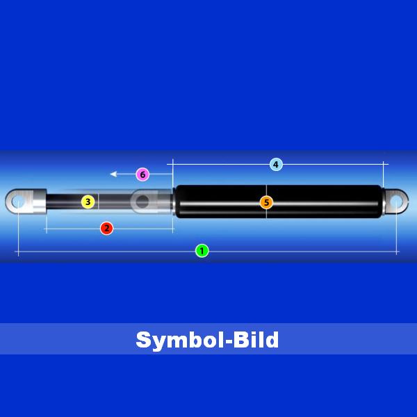 Gasdruckfeder 360N für Kettler UVA-Solar