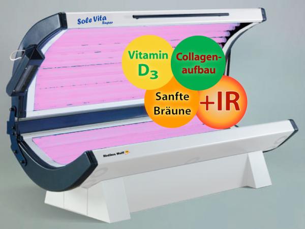 Solarium C24 Sole Vita RUBINO Super