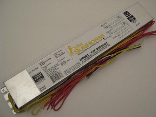 EVG SunHorse 4 x 80-100W / 2 x 160-200W / 230V