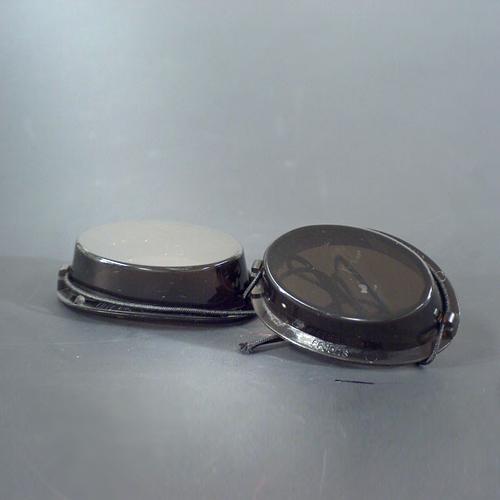 Schutzbrille mit Gummizug, anthrazit (Rauchglas)